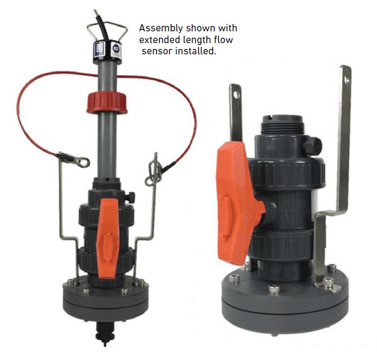 3-3519 安全閥裝置蹼輪式流量感測器