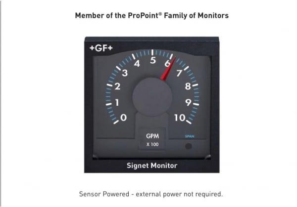 5090 免電源流量指示器