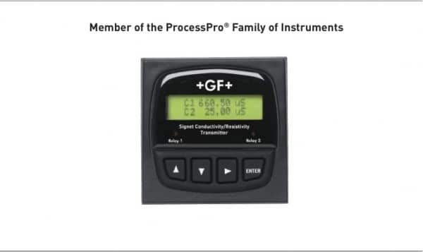 8860雙迴路導電度/amp;比電阻控制器