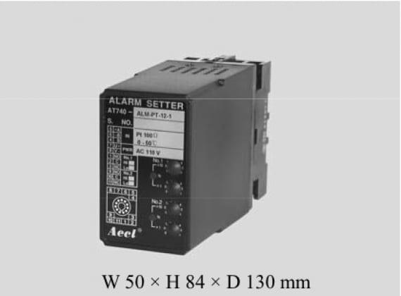 AT-740-ALM-PT測溫電阻溫度警報設定器