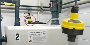 DL14水處理日用桶液位傳感器1