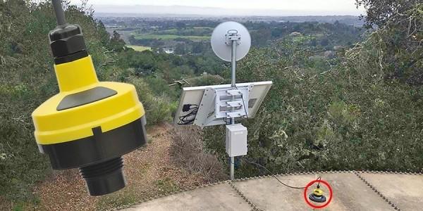 DL24 遠程儲水槽監測液位傳感器