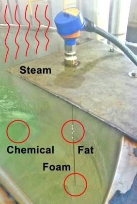 LG10蒸汽和泡沫廢水液位傳感器2