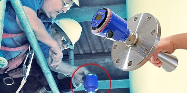 LR15純鹼漿料混合罐液位傳感器圖1