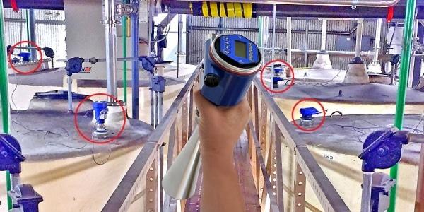LR15 高度蒸發的化學液位傳感器