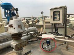 LR15 150 Ton食用儲油槽庫存量連續監測系統1