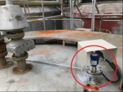 LR15300 Ton儲油槽庫存量連續監測系統1