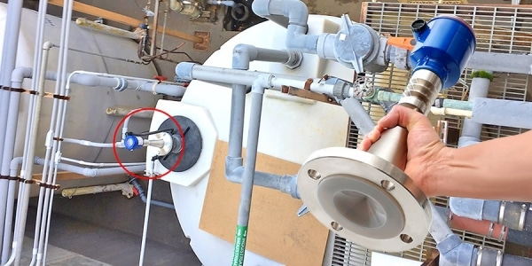 LR20 發泡廢水槽液位傳感器