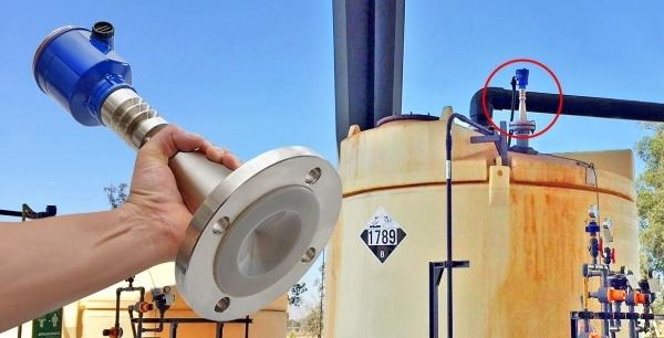 LR20鹽酸散裝罐液位傳感器1