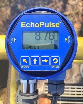 LR30可靠的市政運河液位傳感器2