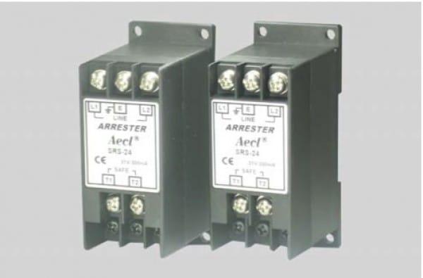 SRS訊號用避雷器(自動復原型及等電位接地)