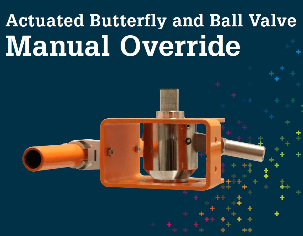 蝶閥/球閥BV and BVF Manual Override