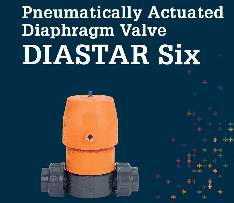 氣動隔膜閥DIASTAR Six
