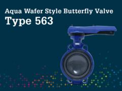 Aqua Wafer Style Butterfly Valve Type 563