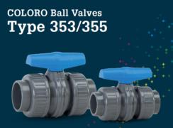 Coloro Ball Valve Type 353 355