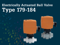 Electrically Actuated Ball Valve Type 179 184