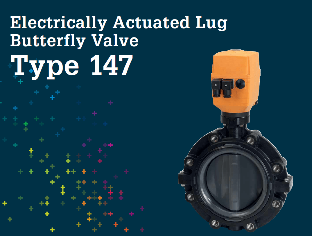 Electrically Actuated Lug Butterfly valve Type 147