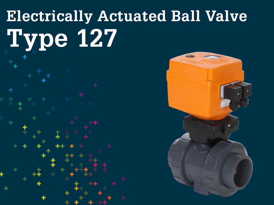 Electrically Actuated ball valve Type 127