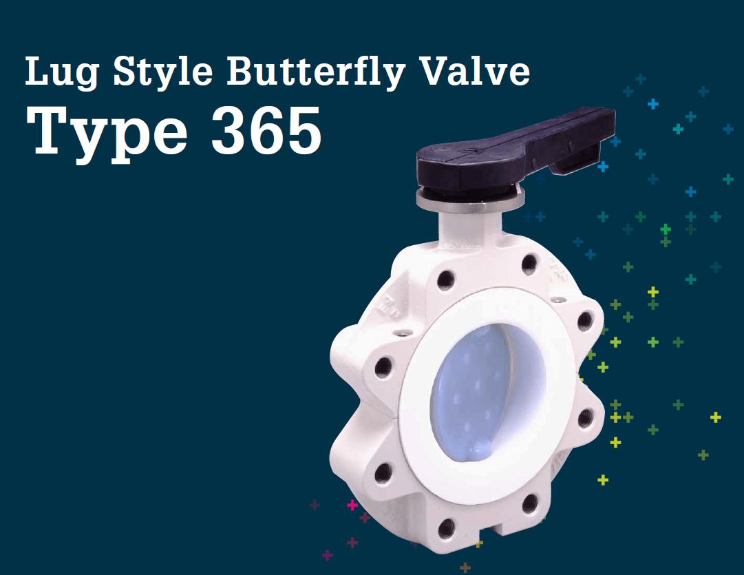 Lug Style Butterfly Valve Type 365