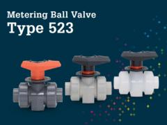Metering Ball Valve Type 523