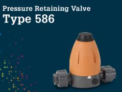 Pressure Retaining Valve Type 586