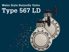Wafer Style Butterfly Valve Type 567LD