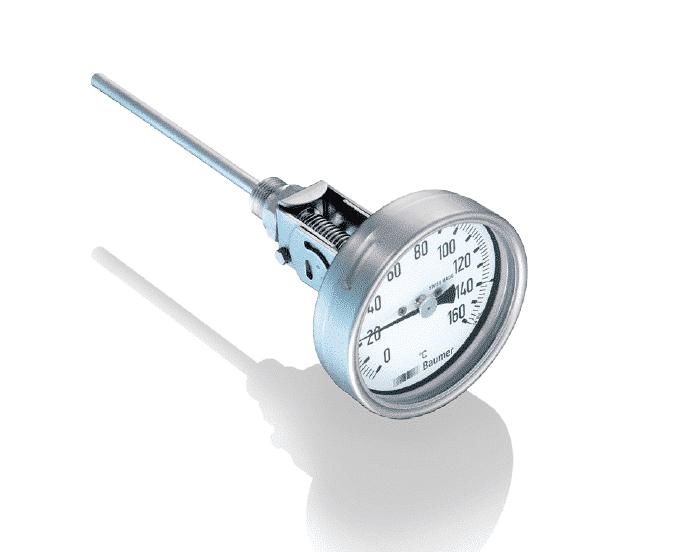 雙金屬溫度感測器