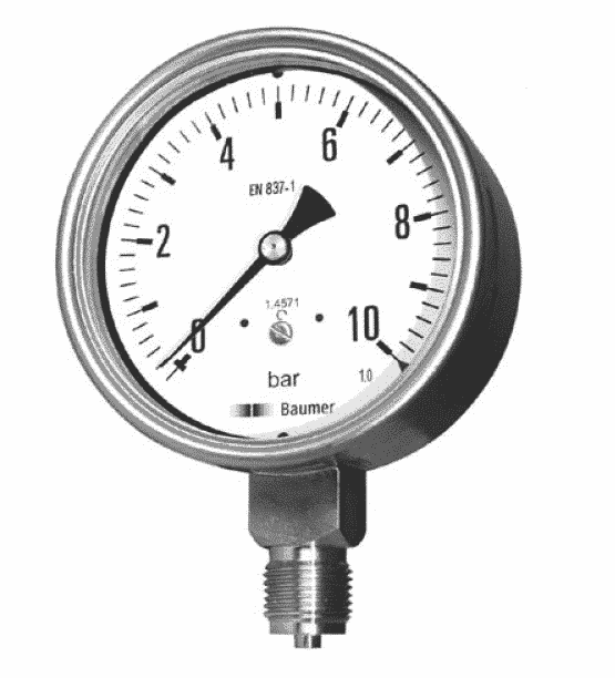 MEX5 – MEM5 Industrial Pressure Gauges DN 100