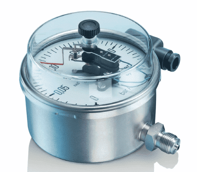 M37 Industrial Pressure Gauges with inductive contacts