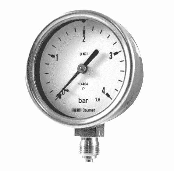 MEX2-MEX3-MEM2-MEM3 Industrial Pressure Gauges