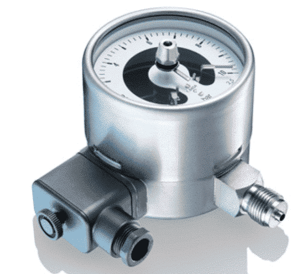 MS5-MR5 Industrial Pressure Gauges with mechanical contacts