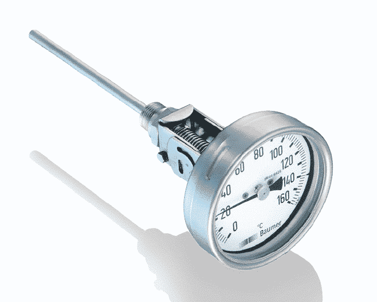 TBHI Bimetalthermometer, Heavy Industry Version