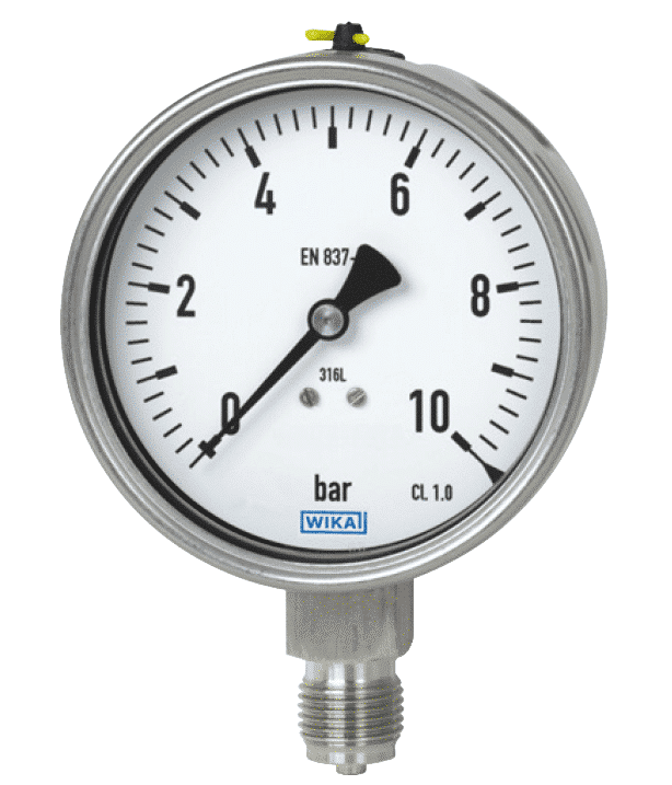 Bourdon Tube Pressure Gauges